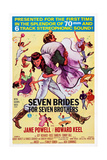 Seven Brides for Seven Brothers Giclee Print
