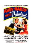 Andy Hardy Meets Debutante Giclée-tryk