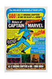 Adventures of Captain Marvel Giclee Print
