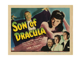 Son of Dracula Giclee Print