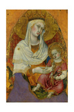 Madonna and Child, 1362 Giclee Print by Taddeo di Bartolo