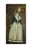 Princess of Lamballe Painted by Her Murderer. 1792. Giclee Print