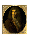 Portrait of Moliere, Ca. 1645 Giclee Print by Pierre Mignard