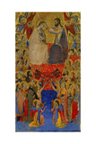 The Coronation of the Virgin Giclee Print by Puccio Di Simone
