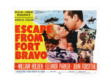 Escape from Fort Bravo Giclee Print