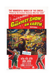 The Greatest Show on Earth Giclee Print