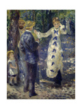 The Swing, 1876 Giclee Print by Pierre Auguste Renoir