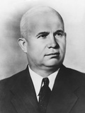 Nikita Khrushchev, as First Secretary of the Central Committee of the Communist Party, Soviet Union Photo