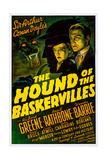 The Hound of the Baskervilles Giclée-tryk