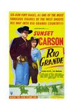 Rio Grande Giclee Print