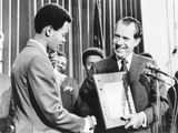 James Heath Congratulated by President Nixon, as the Winner of the Boys Clubs of America Contest Photo