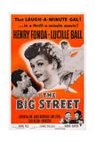 The Big Street Giclée-tryk