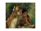 The Reading, 1892 Giclee Print by Pierre Auguste Renoir