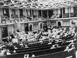 The 'Turnip Day' Session of the Special Session of Congress Called by President Harry Truman Photo