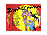 Ziegfeld Follies Giclee Print