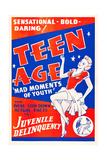 Teen Age Giclee Print