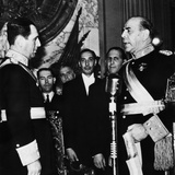 President Juan Peron Receives the Sash of Office in Buenos Aires, Argentina, June 4, 1946 Photo