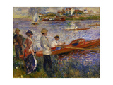 Oarsmen at Chatou, 1879 Giclee Print by Pierre Auguste Renoir