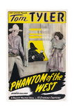 The Phantom of the West Giclee Print