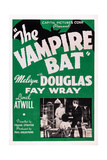 The Vampire Bat Giclee Print