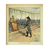 Napoleonic Wars, Jean-Andoche Junot Threatens the Venetian Senate Giclee Print by Louis Bombled