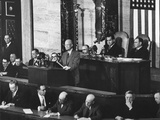 President Dwight Eisenhower Delivering His 1954 State of the Union Address to Congress Photo