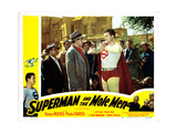 Superman and the Mole Men Giclee Print