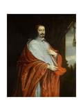 Portrait of Cardinal Jules Mazarin Giclee Print by Philippe De Champaigne