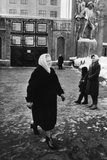Nina Khrushchev, Wife of the Soviet Leader, after Voting in the District Elections, Moscow Photo