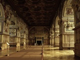 Ball Room of King Henry II of France, Chateau de Fontainebleau Photo by Philibert Delorme
