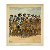 Napoleonic Wars, Cavalry of the Army of Italy Giclee Print by Louis Bombled