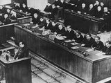 Premier Georgy Malenkov Addressing the Supreme Soviet Counsel a Month after Stalin's Death Photo