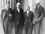 J.P. Morgan Jr. with a Few of His Partners at the Senate Banking and Currency Committee Hearings Photo