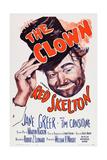 The Clown Giclee Print