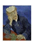 Dr Paul Gachet, 1890 Giclee Print by Vincent van Gogh