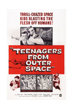 Teenagers from Outer Space Giclee Print