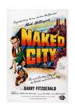 The Naked City Giclee Print