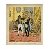 Napoleonic Wars, Talleyrand in Front of Decres Giclee Print by Louis Bombled