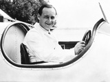 Donald Campbell, Son of Racing Great Sir Malcolm Campbell, in His Father's Speedboat, Blue Bird Photo