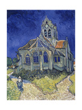 Church in Auvers-Sur-Oise, View from the Chevet. 1890 Giclee Print by Vincent van Gogh