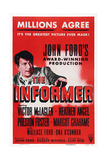 The Informer Giclee Print