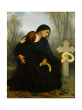 All Soul's Day (Day of the Dead) Giclee Print by William Adolphe Bouguereau