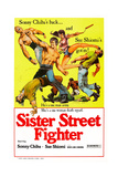 Sister Street Fighter Giclee Print