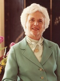 Barbara Bush, Wife of Vice President George H.W. Bush During the Ronald Reagan Administration Photo