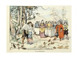Reconciliation Between Turenne and His Father Giclee Print by Paul Dufresne