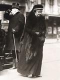Frances Louisa Tracy Morgan, Widow of J.P. Morgan Sr. Attending the Funeral of John L. Cadwalder Photo