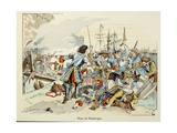 General Turenne at the Siege of Dunkirk in 1658 Giclee Print by Paul Dufresne