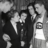 Physicist Lise Meitner Meets the Finalists in the Science Talent Search Competition in 1946 Photo