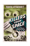 Killers from Space Giclee Print
