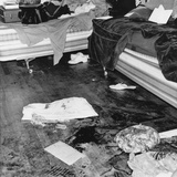 Bloody Crime Scene in the Apartment Where Richard Speck Murdered Eight Student Nurses Photo